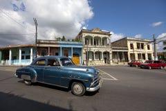 Vecchia automobile in Pinar del Rio Immagine Stock