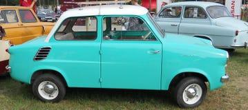 Vecchia automobile polacca Immagini Stock Libere da Diritti