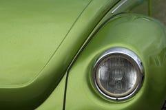 Vecchia automobile, retro, primo piano Fotografie Stock Libere da Diritti