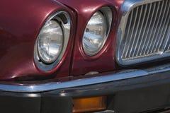 Vecchia automobile: riflettore tradizionale Fotografie Stock Libere da Diritti