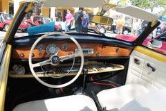 Vecchia automobile sportiva tedesca Fotografia Stock