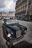 Vecchia automobile tagliata Fotografie Stock Libere da Diritti