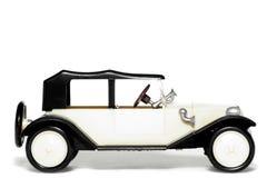 Vecchia automobile Tatra 11 Faeton del giocattolo immagine stock libera da diritti