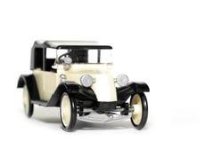 Vecchia automobile Tatra 11 Faeton del giocattolo Immagini Stock Libere da Diritti