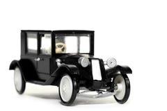 Vecchia automobile Tatra 11 Limusina del giocattolo fotografia stock libera da diritti