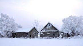 Vecchia azienda agricola Fotografie Stock