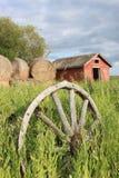 Vecchia azienda agricola Fotografie Stock Libere da Diritti