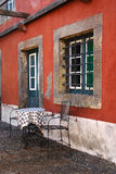 Vecchia azienda agricola del vino, chateau. Immagine Stock Libera da Diritti