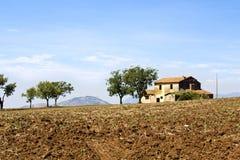 Vecchia azienda agricola della casa Fotografie Stock Libere da Diritti