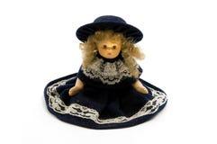 Vecchia bambola della porcellana Immagine Stock Libera da Diritti