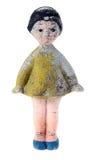 Vecchia bambola di gomma Fotografie Stock Libere da Diritti