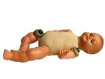Vecchia bambola tagliata Fotografia Stock Libera da Diritti