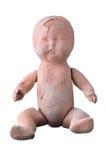 Vecchia bambola terrificante immagini stock libere da diritti