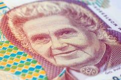 Vecchia banconota italiana Fotografie Stock Libere da Diritti
