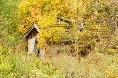 Vecchia baracca Fotografia Stock Libera da Diritti