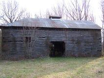 Vecchia baracca Immagini Stock