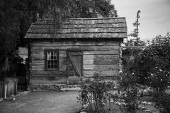Vecchia baracca Fotografie Stock Libere da Diritti