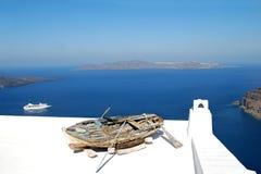 Vecchia barca Immagine Stock
