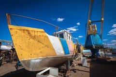 Vecchia barca Fotografie Stock Libere da Diritti