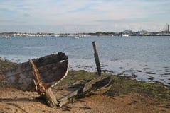 Vecchia barca Fotografia Stock