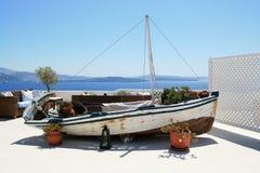 Vecchia barca decorativa Fotografia Stock Libera da Diritti