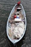 Vecchia barca del pescatore Fotografie Stock Libere da Diritti