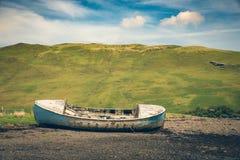 Vecchia barca del relitto Immagine Stock Libera da Diritti