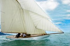 Vecchia barca di navigazione Fotografie Stock Libere da Diritti