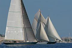 Vecchia barca di navigazione Immagine Stock Libera da Diritti