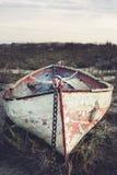 Vecchia barca a remi Immagini Stock