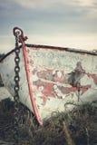 Vecchia barca a remi Fotografia Stock Libera da Diritti