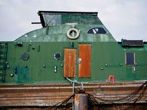 Vecchia barca in Wilhelmshaven fotografia stock libera da diritti