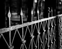 Vecchia barriera Fotografia Stock Libera da Diritti