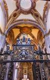 Vecchia basilica Guadalupe Mexico City Mexico della piccola cappella Immagine Stock