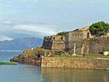 Vecchia basilica spagnola Immagine Stock Libera da Diritti
