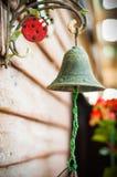 Vecchia Bell d'ottone Fotografie Stock Libere da Diritti