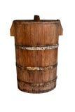 Vecchia benna di legno Immagine Stock