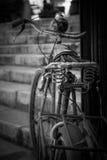 Vecchia bici immagine stock