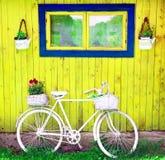 Vecchia bici d'annata Fotografia Stock Libera da Diritti