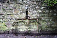 Vecchia bici del ferro Fotografia Stock Libera da Diritti