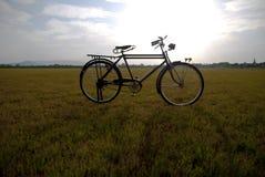 Vecchia bici in Tailandia Fotografia Stock