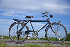 Vecchia bici, vecchia bici in Tailandia Immagini Stock