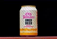Vecchia birra di zenzero della Giamaica fotografia stock