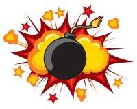 Vecchia bomba Fotografia Stock Libera da Diritti