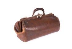 Vecchia borsa della medicina Fotografia Stock