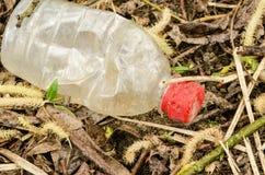 Vecchia bottiglia Fotografie Stock Libere da Diritti