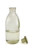 Vecchia bottiglia chimica Fotografia Stock Libera da Diritti