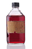 Vecchia bottiglia della medicina fotografie stock libere da diritti
