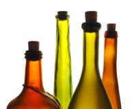 Vecchia bottiglia di vino immagine stock libera da diritti
