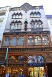 Vecchia Budapest di costruzione pittoresca Immagine Stock Libera da Diritti
